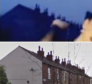 Forensic analysis of the chimney pots and length of the building is irrefutable
